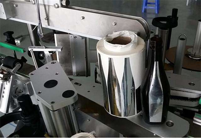 洗髮水瓶自動雙面貼標機詳細信息